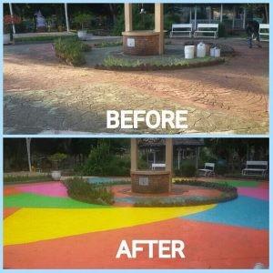 cat epoxy mengatasi kebocoran rumah anda
