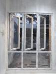 jendela swing 3 daun dan kacamati 3 daun upvc