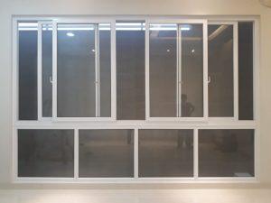 jendela sliding 4 daun dan kacamati