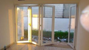 Pintu Lipat 4 daun Proyek Bogor