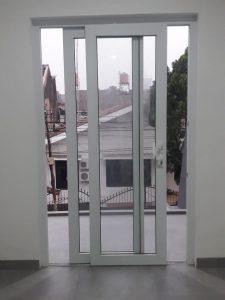 Pintu sliding 2 daun