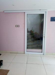 pintu sliding 1 daun upvc