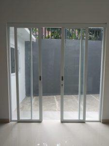 pintu sliding alumunium ykk