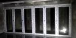 Pintu Lipat UPVC 6 daun