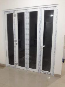 pintu lipat upvc 4 daun