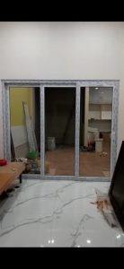 Pintu geser pintu sliding upvc
